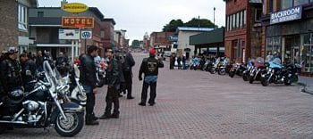 Photo Courtesy of Keweenaw Ride-In Event