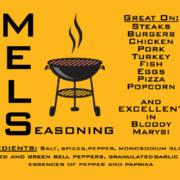 Mel's Seasoning